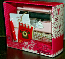 """Our Generation Retro Take a Letter Pink Typewriter for 18"""" Doll American Girl"""