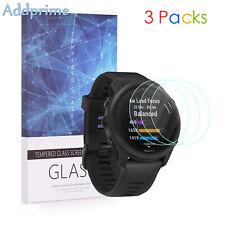 For Garmin Forerunner 745 9H Hardness Tempered Glass Screen Protector 3 Packs