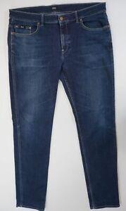 Hugo Boss Jeans Dalaware1 W38 L36 38/36 blau stonewashed gerade Denim X370