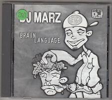 DJ MARZ - brain language CD