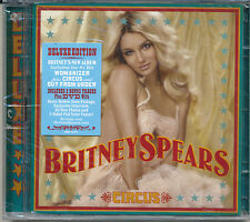 Britney Spears Circus [Deluxe Edition] CD + DVD '08 (SEALED)