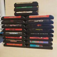 Lot of 19 Sega Genesis Games
