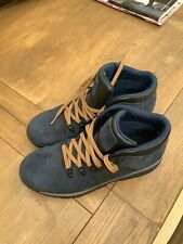 TIMBERLAND A1QEY GT RALLY MEN'S NAVY WATERPROOF HIKING BOOTS Uk 9