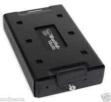 NEW Hand Gun Pistol HandGun Safe Cable Lock Box Cash Security LockBox Travel Car