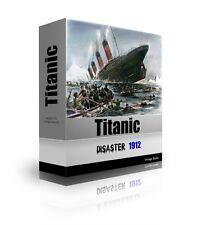 The Titanic-Disaster 1912, Vintage Titanic Books on CD-History of the Titanic