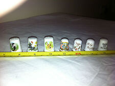 Thimbles Job Lot Bundle Collectable China Mixed Lot x 7 E