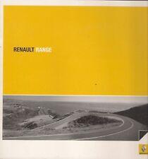 Brochure RENAULT 2007-2008 UK TWINGO CLIO MODUS MEGANE SCENIC LAGUNA ESPACE