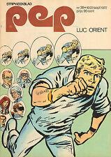 PEP 1972  nr. 38 - NEW SEEKERS/LUC ORIENT/PIET SCHRIJVERS