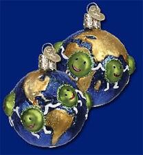 Peace Ornament Glass World Peas Old World Christmas 36135 3