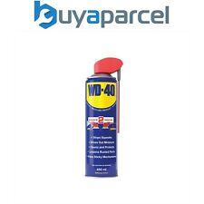 WD40 Lubricant 450ml Smart Straw Spray Cleaning Fluid Multi Use W/D44237