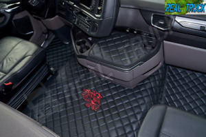 ECO LEATHER FLOOR SET FIT SCANIA R [ 2017+] NEW GENERATION - LEFT HAND DRIVE