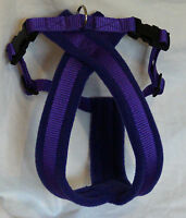 FLEECE LINED DOG HARNESS, MATCHING LEADS AVAILABLE - VARIOUS COLOURS