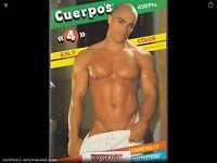 CUERPOS Nº 4    - REVISTA GAY -  Magazine  vintage gay Spain años 90