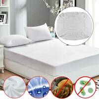 Waterproof Mattress Terry Protector Cover King Size 4FT Double Super KING Single
