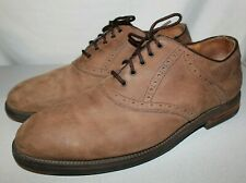 Johnston Murphy Passport Brown Suede Men's Shoes 12M- 20-4960 - Made in Italy