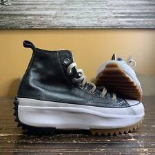 Converse Run Star Hike Hi Sneakers Women's Size 7 Black 169241C