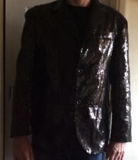 Black Sequinned Jacket