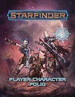 Starfinder Roleplaying Game: Starfinder Player Character Folio by Staff, Paizo