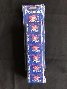 POLAROID 200 35mm Camera Film 24 Expired 1998 Film 6 pack Sam's Club Sealed NEW