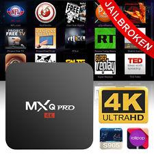 MXQPRO Android 5.1 4K 8GB Smart TV Box Quad Core WIFI Internet HD Media Player