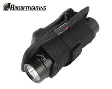 UltraFire 360 Degrees Rotatable Belt Clip Flashlight Pouch Holster for Surefire