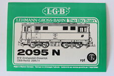 LGB 2095 N B'B'-Drehgestell-Diesellok