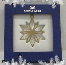 SWAROVSKI CHRISTMAS ORNAMENT, GOLDEN STAR - 5064267