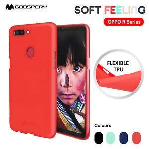 OPPO R17 R17 Pro R15 Mercury Soft Feeling Jelly Gel Silicone Cover Case