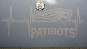 New England Patriots Life car decal