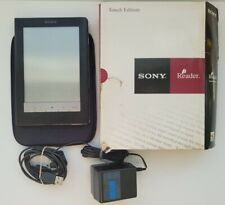 SONY E Reader Touch Edition Tablet PRS-600 Black with Charging Cable