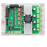 New 4 Axis TB6600 CNC Controller Max Current 5A 36V Stepper Motor Driver Board