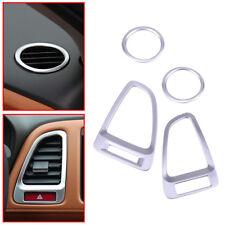 Fit for Honda HR-V VEZEL 2014-2016 Chrome Outlet Dash Air Vent Cover Trim