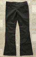 American Eagle Womens Bootcut Corduroy Pants Brown Size 4 100% Cotton