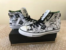 Gorillaz Converse Shoes White/Black High Top - Size 10 *EXTREMELY RARE*