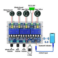 bluetooth 5.0 TDA3116D2 Digital Amplifier Board Four-Channel  Audio Amplifiers