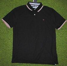 Tommy Hilfiger Cotton Blend Short Sleeve Casual Shirts for Men
