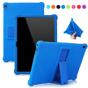 Silicone Stand Case For Lenovo Tab M10 TB-X605 M10 HD TB-X505 Tablet Cover 10.1'