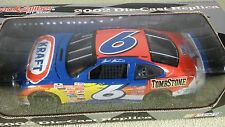 2002 Team Caliber MARK MARTIN #6 Kraft Ford Diecast Nascar 1/24 Pit Stop
