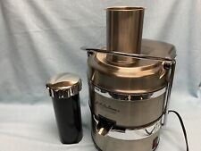 Jack LaLanne's TriStar Power Juicer Pro E-1181 Stainless Steel Working