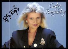 Gaby Baginski Autogrammkarte Original Signiert ## BC 53224