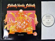 GERMAN PRESSING Black Sabbath Nems 6017 Sabbath Bloody Sabbath