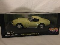 Hot Wheels-1969 Corvette 427 Stingray-opened Box-very Clean 1:18 Scale
