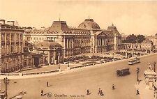 Br35036 Bruxelles Palais du Roi Tramway belgium