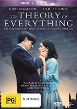 THE THEORY OF EVERYTHING-Felicity Jones, Eddie Redmayne-Region 4-New AND Sealed