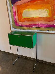 usm haller, Sideboard, hightboard, board schwarz, grün, stahlblau, Anthrazit