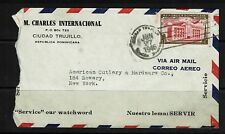 Dominican Republic - 1946 Airmail Cover to USA - 091017