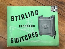 More details for stirling ironclad switches ! ( nice graphics )