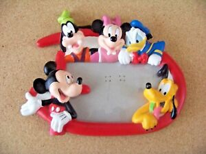 Disney Characters 3D picture frame Mickey Mouse Minnie Goofy Pluto Donald Duck