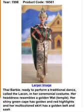 1997 Thai Barbie Mattel# 18561 perfect condition