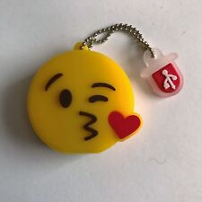 1 New Cute Novelty Emoji Kiss, 128MB USB Flash Drive Memory Stick